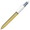 Bic 4 Couleurs shine or