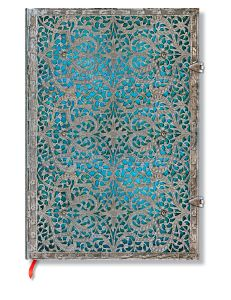 Carnet Paperblanks Maya Bleu - 21X30cm - 240p - Pages blanches