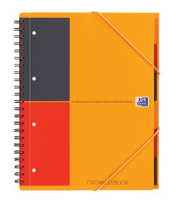 Cahier Oxford OrganiserBook - A4+ - 160 pages - ligné