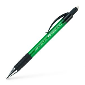 Porte-mine Faber-Castell grip matic - 0,7mm - HB - vert