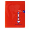 CAHIER TP CLAIREFOINTAINE POLYPRO 17X22 80 PAGES