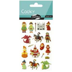 Stickers Cooky Maildor -  les chevaliers