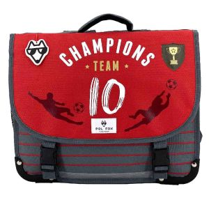 Cartable Scolaire Pol Fox Champions Team - 38 cm