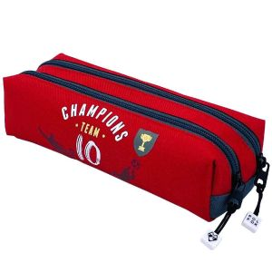 Trousse Scolaire Pol Fox Champions Team - 2 compartiments