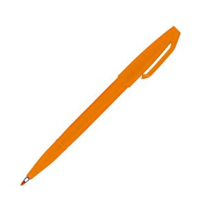 Stylo-Feutre Pentel sign pen - orange