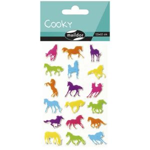 Stickers Cooky Maildor - chevaux