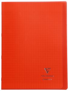 Cahier Clairefontaine Koverbook - A4 - 96 pages - Séyès – rouge