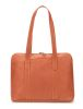Sac Shopping Arthur & Aston - Cuir buffle - Cognac