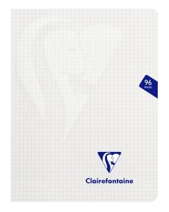 Cahier Clairefontaine Mimesys – 17x22 cm - 96 pages - petits carreaux - incolore