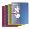 Cahier A4 Clairefontaine Linicolor evolutiv'book - 240 pages - petits carreaux