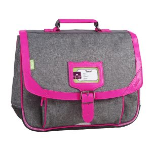 Cartable Tann's 35 cm - chiné rose