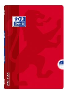 Cahier Oxford open flex - A4 - 96 pages - Séyès - rouge