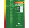 Copies Doubles Clairefontaine - A4 - 200 pages - petits carreaux - blanc