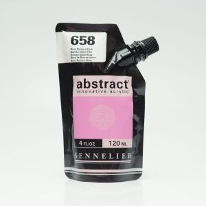 Peinture Acrylique Abstract Sennelier - 120ml - rose quinacridone