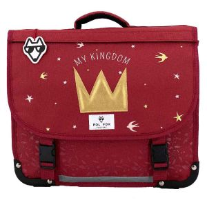 Cartable Scolaire Pol Fox My Kingdom - 35 cm