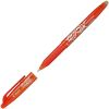 Stylo Frixion Pilot - pointe moyenne 0,7 mm - orange