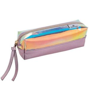 Trousse Scolaire Moonlight grenat