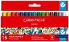 15 demi-pastels aquarellables School Line Caran d'Ache