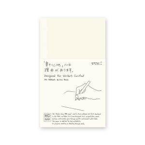Carnet Midori MD - B6 10,5x17,5 cm - pages blanches