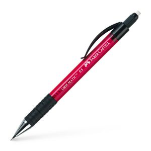 Porte-mine Faber-Castell grip matic - 0,5mm - HB - rouge