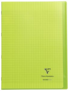Cahier Clairefontaine Koverbook - A4 - 96 pages - Séyès - vert
