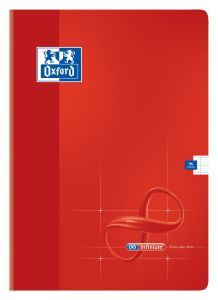 Cahier Oxford infinium - A4 - 96 pages - Séyès – rouge