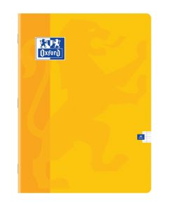 Cahier Oxford - 24x32 cm - 48 pages – Séyès - jaune