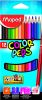 12 Crayons de Couleur Maped color pep's