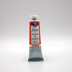 Gouache Fine Lefranc Bourgeois - 25ml - Rouge persan clair