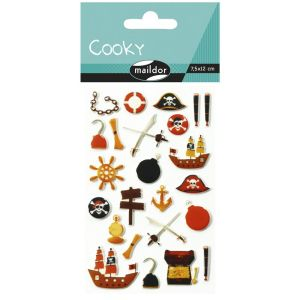 Stickers Cooky Maildor - pirates