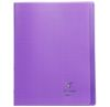 Cahier Clairefontaine Koverbook - 24x32 cm - 96 pages - Séyès - violet