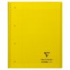 Cahier Clairefontaine Koverbook - A4+ - 160 pages - Séyès - jaune
