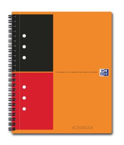 Cahier Oxford Activebook - A5 - 160 pages - ligné