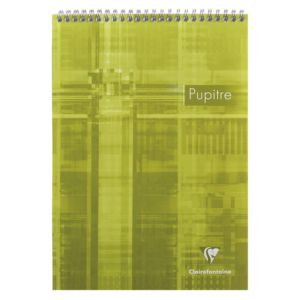 Bloc-Notes Clairefontaine Pupitre - A4 - 160 pages - petits carreaux