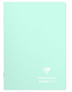 Cahier Clairefontaine Koverbook - 17x22 cm - 96 pages - ligné - menthe