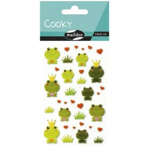 Stickers Cooky Maildor - grenouille