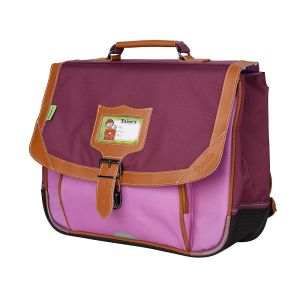 Cartable Tann's 35 cm - iconic - violet-parme
