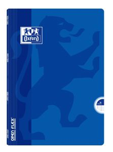 Cahier Oxford open flex - A4 - 96 pages - Séyès - bleu
