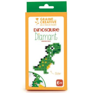 Kit diamond mosaic sticker - dinosaure