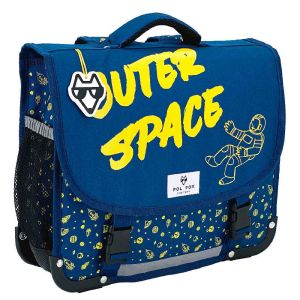 Cartable Scolaire Pol Fox Outer Space - 35 cm