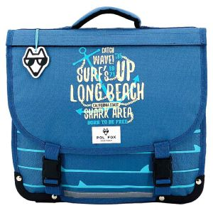 Cartable Scolaire Pol Fox Surf Spirit - 38 cm