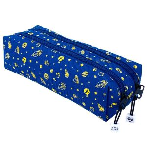 Trousse Scolaire Outer Space - 2 compartiments