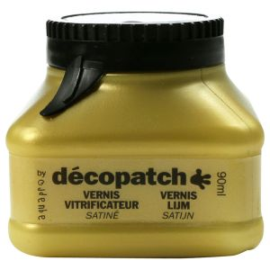 Vernis Vitrificateur Décopatch - 90 ml - Satiné