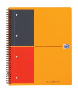 Cahier Oxford Activebook - A4 - 160 pages - ligné