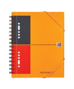Cahier Oxford Meetingbook - A5 - 160 pages - ligné
