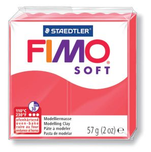 Pâte Fimo Soft - 57g - flamant rose