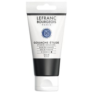 Gouache Colour Lefranc-Bourgeois - 80ml - noir