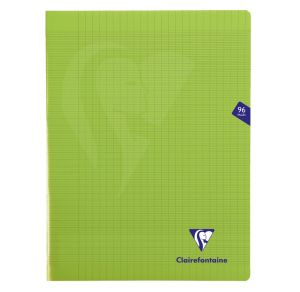 Cahier Clairefontaine Mimesys - 24x32 cm - 96 pages - Séyès - vert
