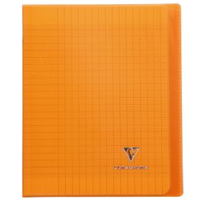 Cahier Clairefontaine Koverbook - 17x22 cm - 96 pages - Séyès - orange