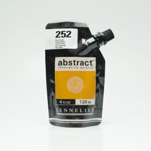 Peinture Acrylique Abstract Sennelier - 120ml - ocre jaune